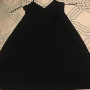 Black M Express Halter Dress
